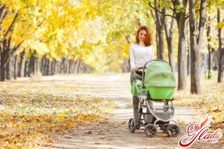 Прогулки с ребенком после родов