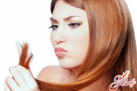 Проблема секущихся кончиков волос
