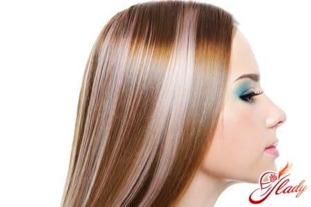 Как покрасить мелированные волосы в каштановый цвет