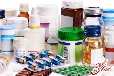 Прием препаратов при геморрое