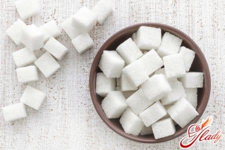 Понижение уровня сахара в крови
