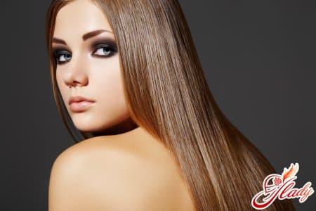 Тонирование волос в натуральный русый оттенок