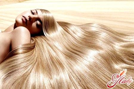 Виды ламинирования волос