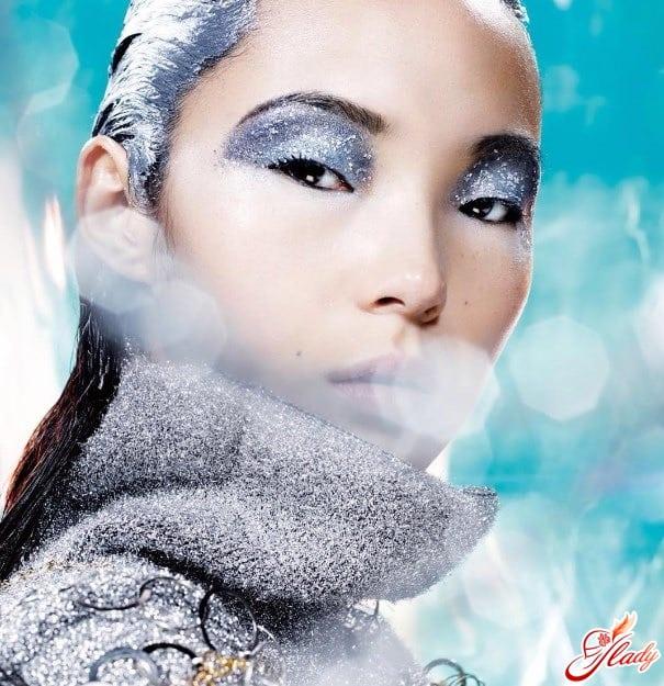 Британская художница по макияжу Lisa Houghton для Vogue Китай