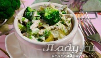 Салат, который можно даже балеринам: потрясающий вкус и минимум калорий