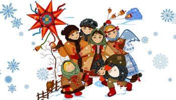 Рождественские колядки на 13 января, прикольные и короткие