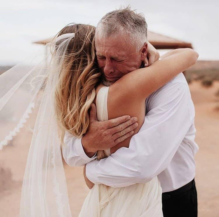 Красивые поздравления отца на свадьбе дочери