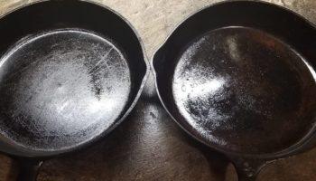 Как очистить чугунную сковороду от нагара и ржавчины
